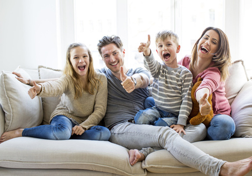 gluekliche Familie